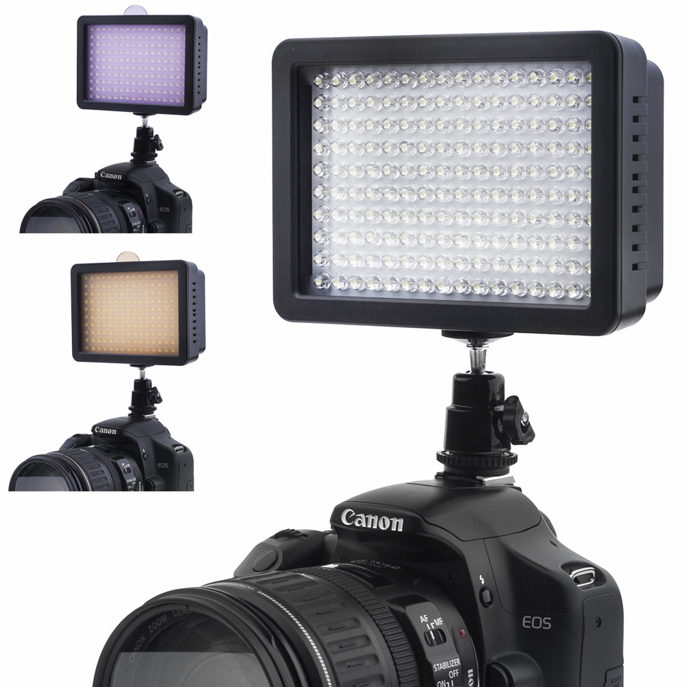 Bestlight 160 LED Studio Video Light For Canon Nikon DSLR