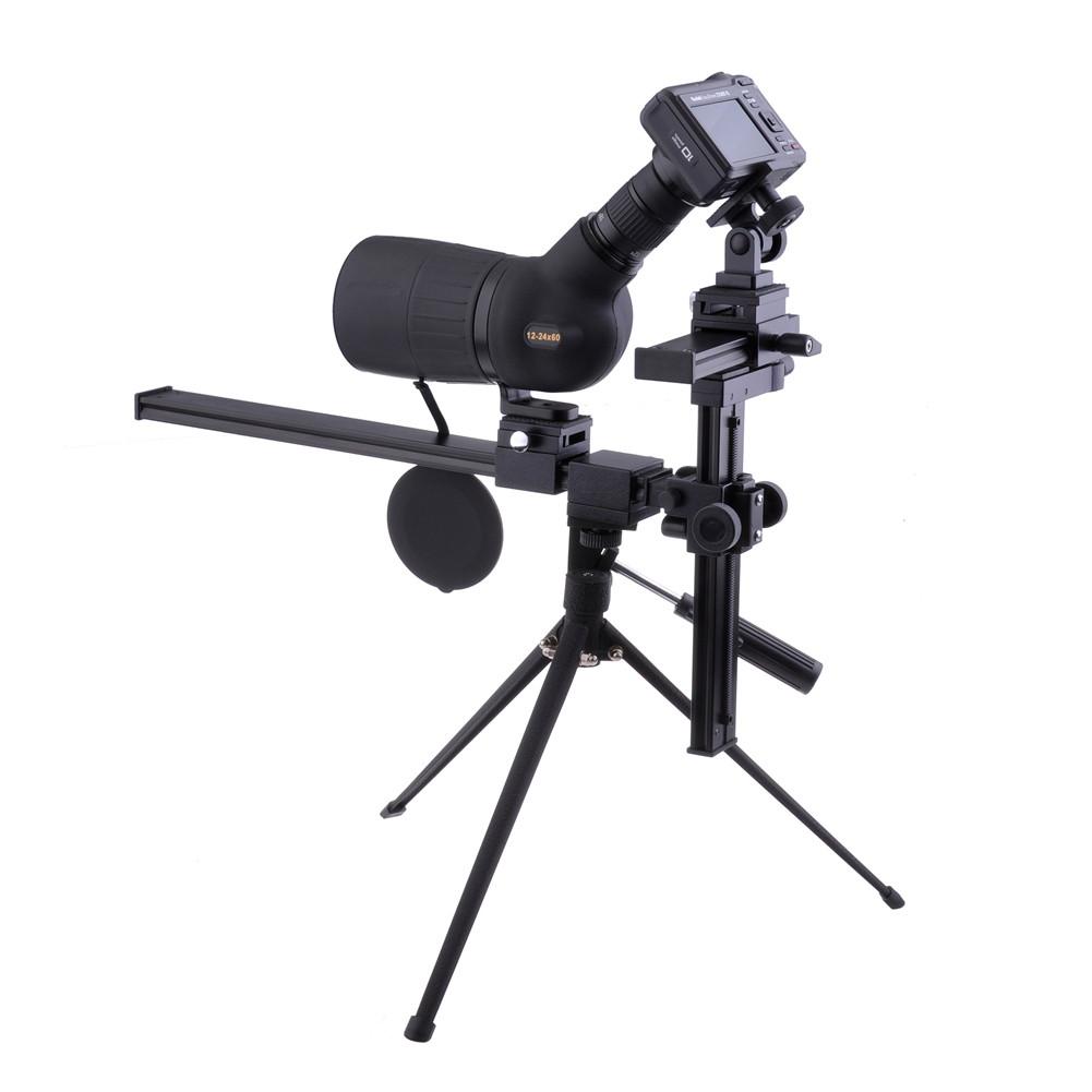 Oscilloscope With Camera Mount : Neewer monocular scope adjustable tripod mount bracket for