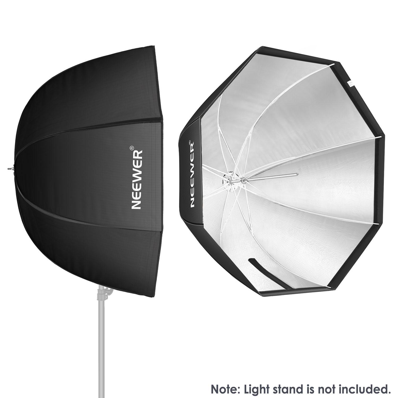 "Umbrella Like A Softbox: NEEWER 32""/80cm Octagonal Umbrella Softbox For Speedlite"