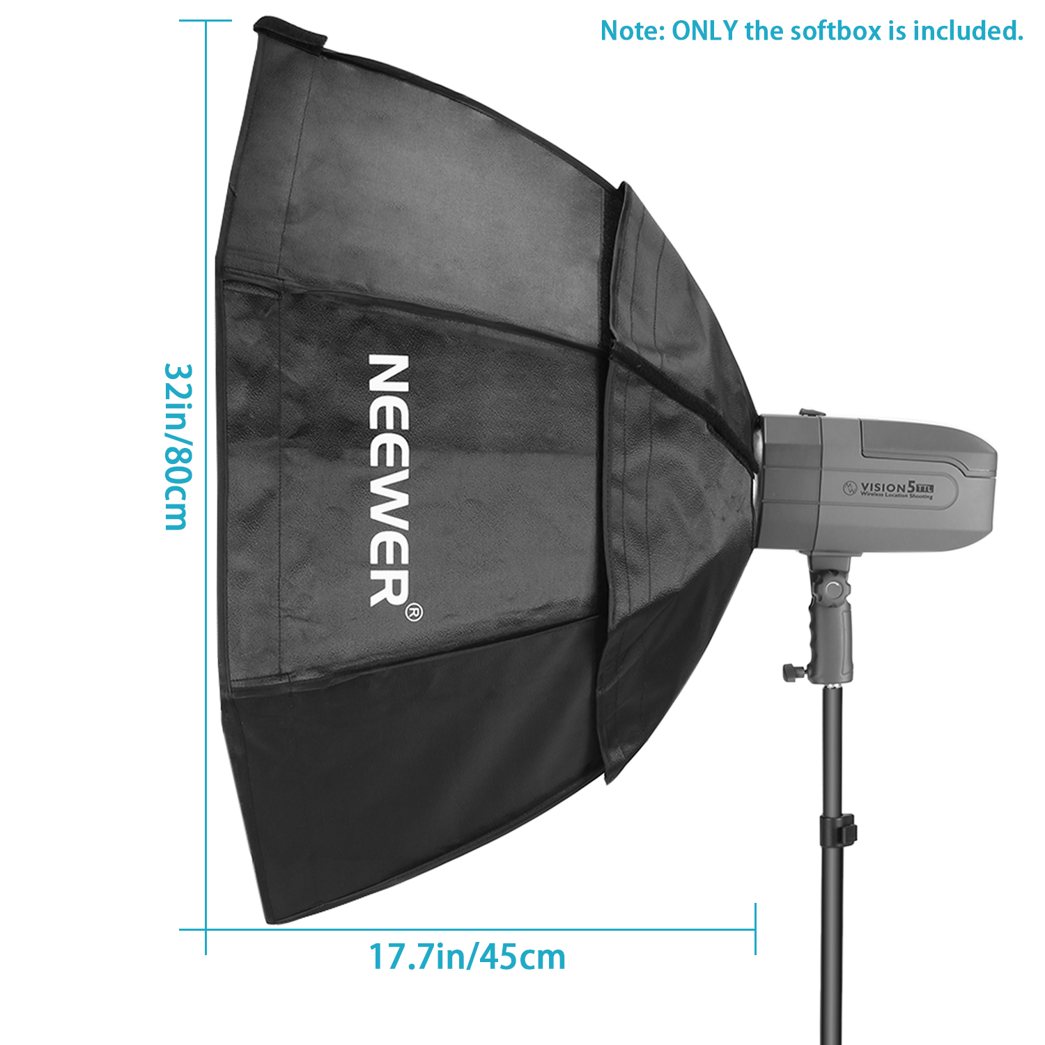 16 Rod Octagon Grid: Neewer Portable Octagon Softbox With Grid Bowens Mount 30