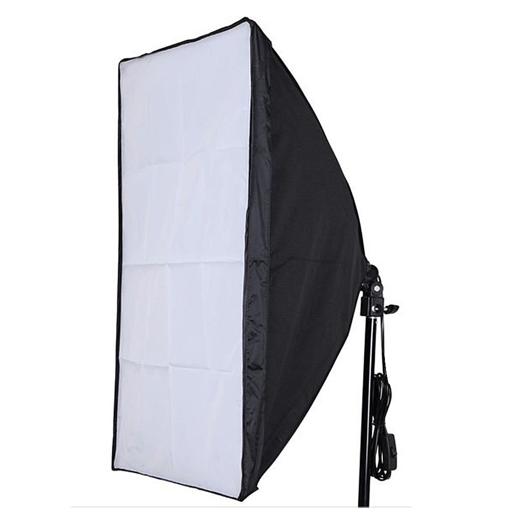 """Diffused Light Stand: Neewer 24""""x24"""" Studio Softbox Diffuser With E27 Socket For"""