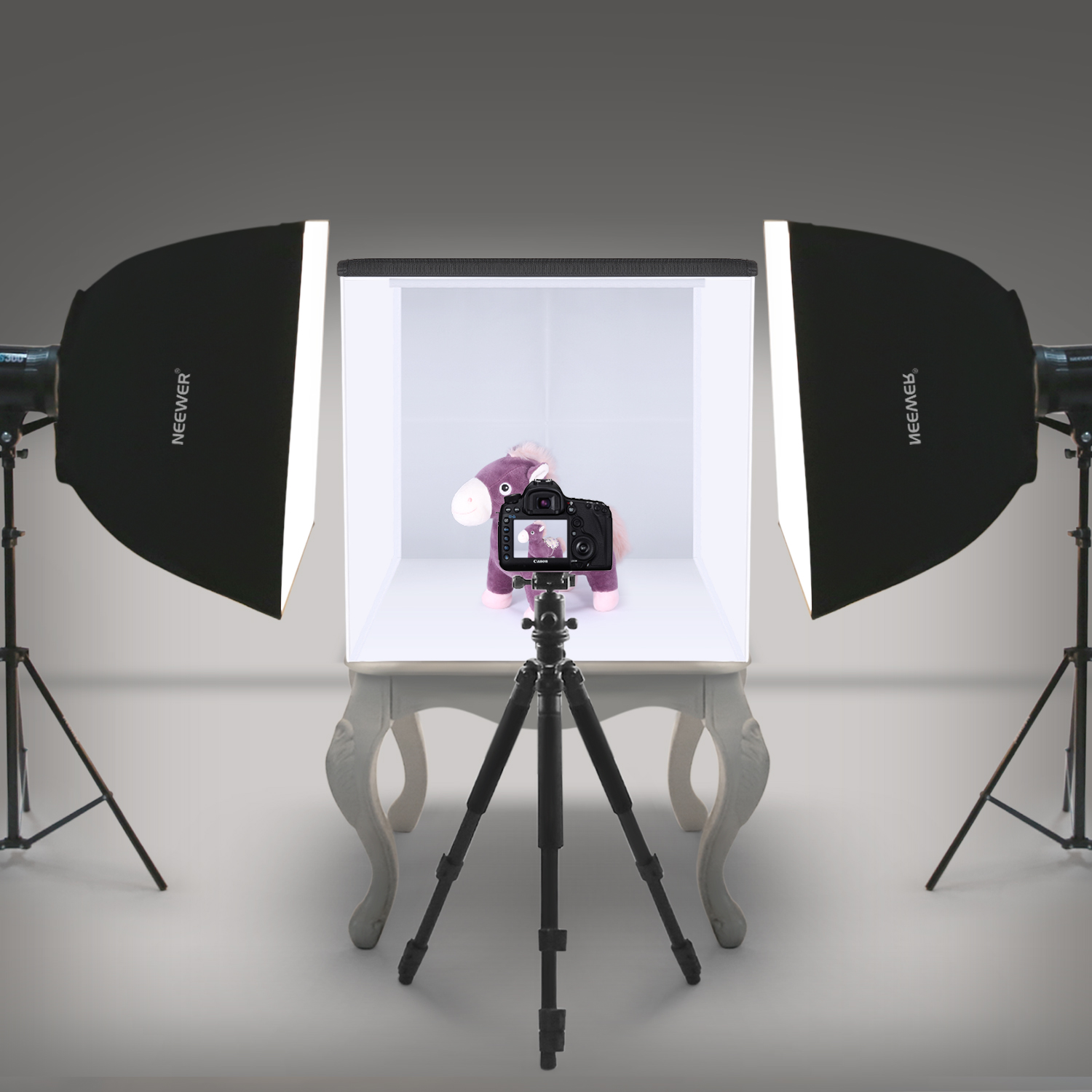 "Neewer 20""x20""/50x50cm Table Top Photo Photography Light"
