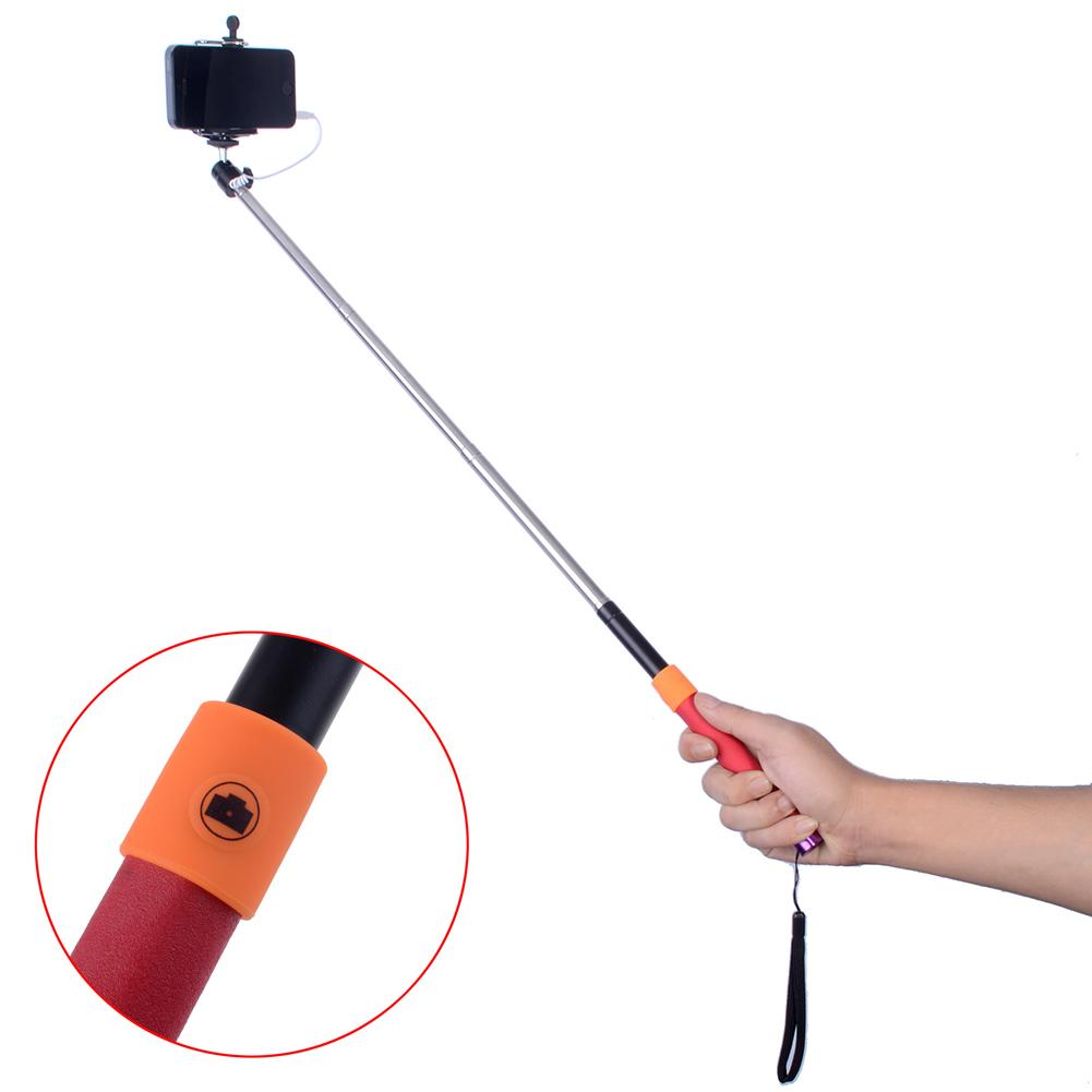 neewer cable take pole 9 to 37 extendable selfie stick handheld monopod tripod ebay. Black Bedroom Furniture Sets. Home Design Ideas