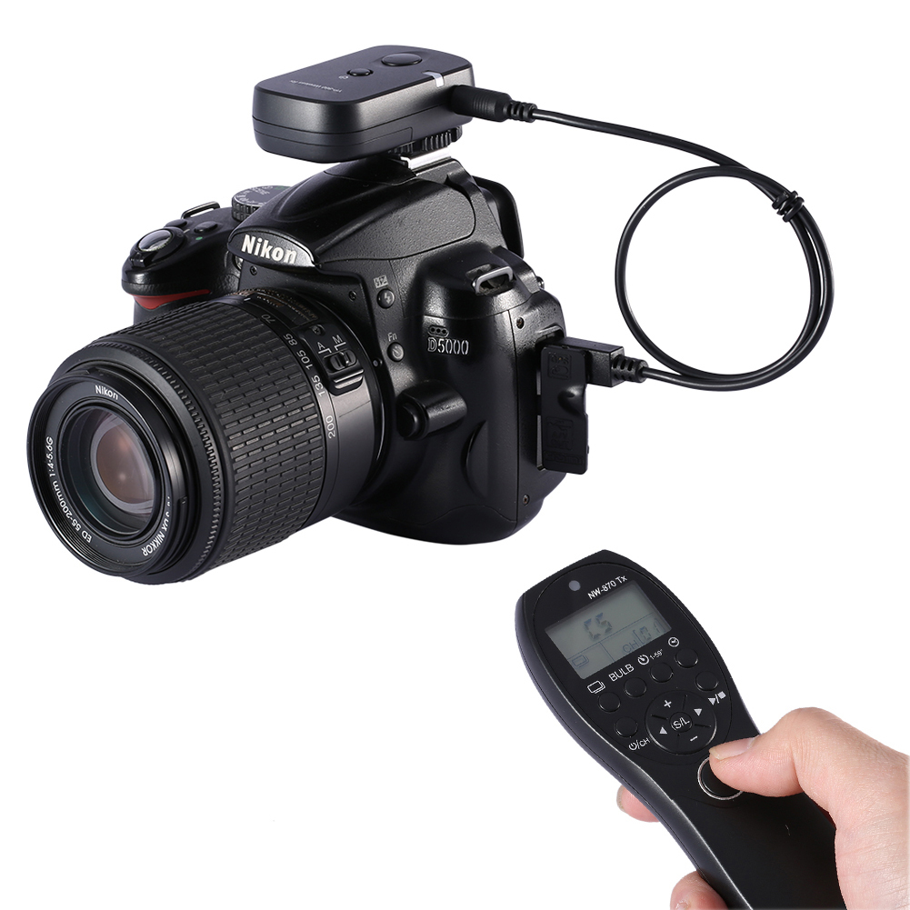 Neewer 870 Dc2 Camera Shutter Release Wireless Remote