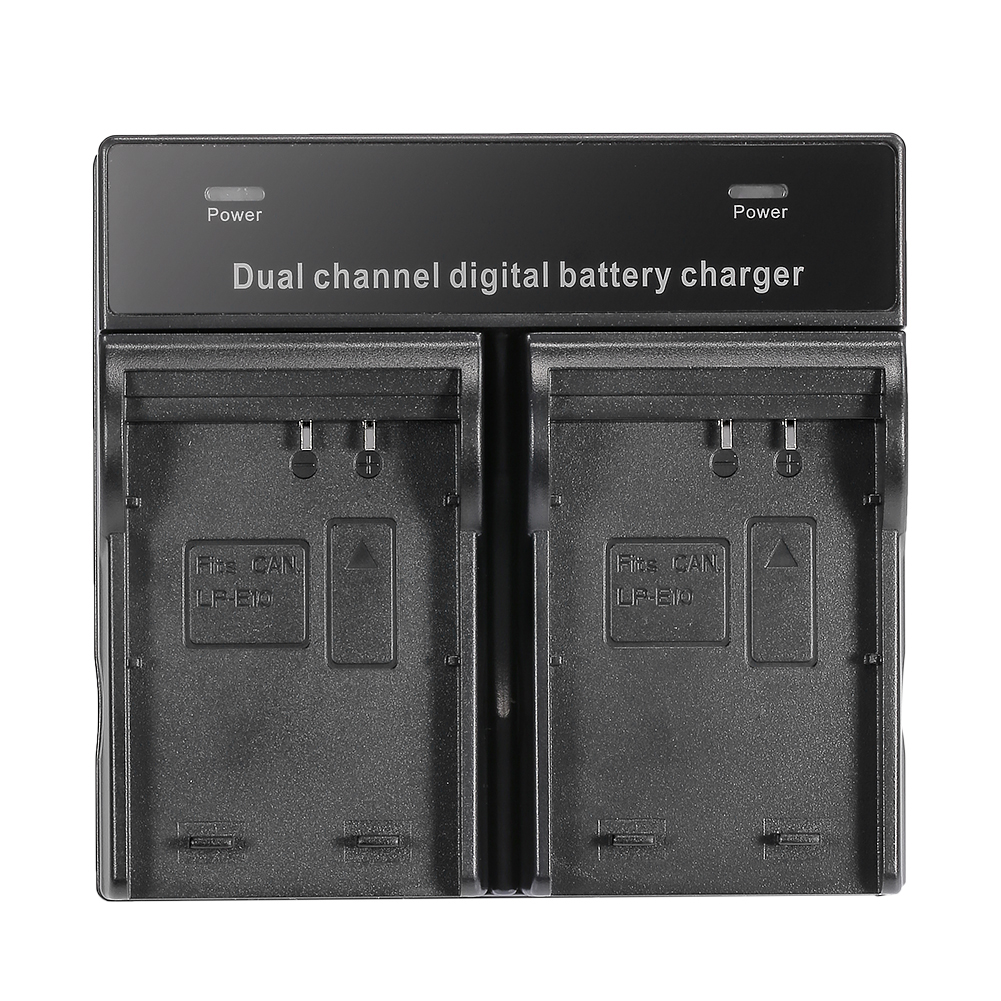 neewer batteries chargeur double canaux pour canon eos. Black Bedroom Furniture Sets. Home Design Ideas