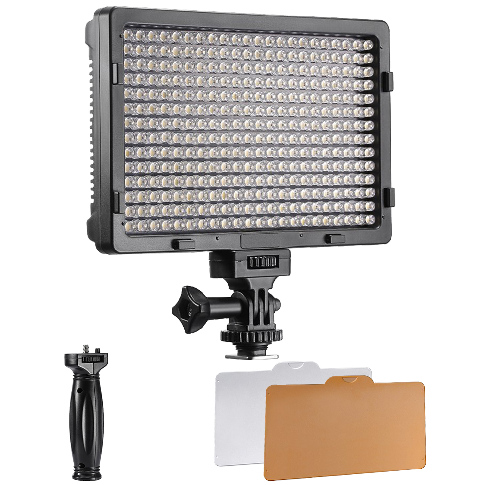 20w Led Dimmable: Neewer PT-380S LED 5600K 20W Dimmable On-camera Video Light