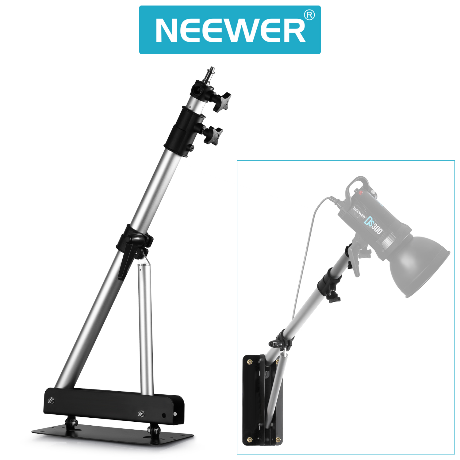 Wall Light Mounting Height : Neewer Max Height 49-inch/125cm Wall Mounting Boom Arm for Studio Video Lights eBay