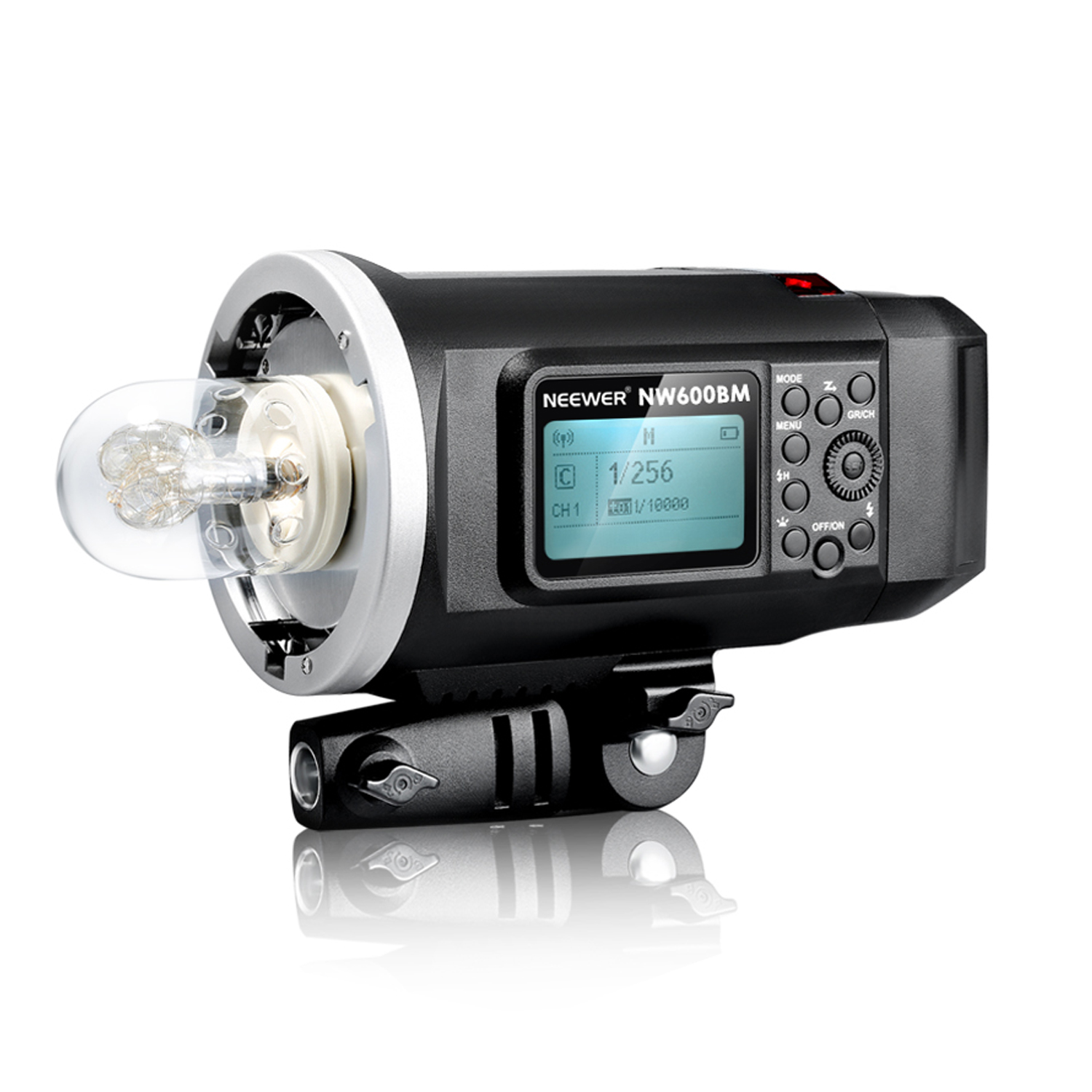 Neeweru0026reg; 600W GN87 HSS Outdoor Flash Strobe Light With 2.4G Wireless  System U0026 8700mAh Rechargeable Battery To Provide 500 Full Power Flashes  Recycle In ...