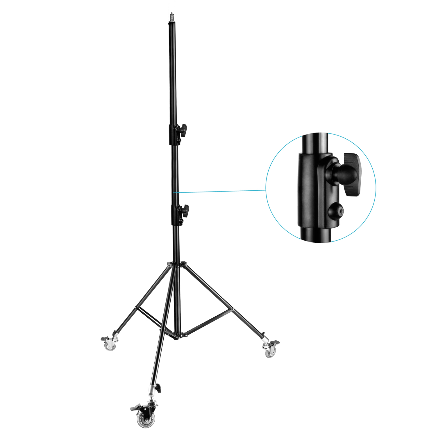 neewer pro version adjustable 102 u0026quot   260cm ight stand tripod