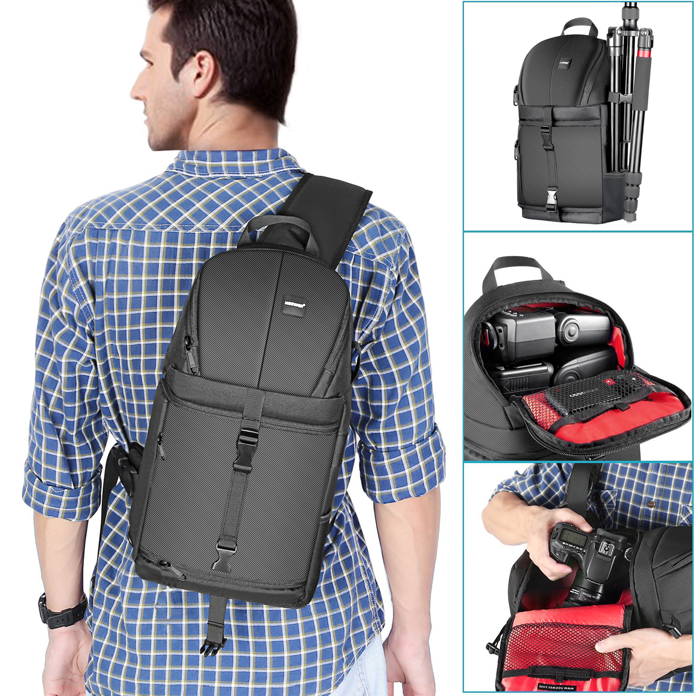 Neewer Professional Waterproof Shockproof Camera Storage Sling Bag ...