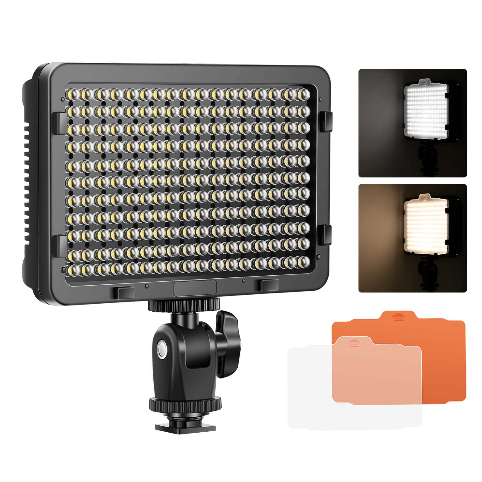 Led Studio Light Repair: Neewer Photo Studio 176 LED Dimmable On Camera Video Light