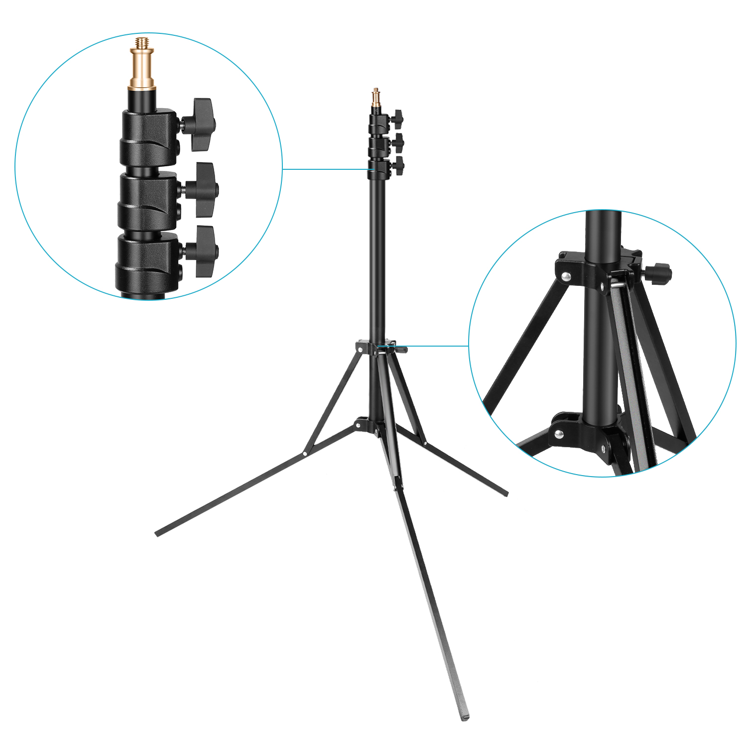 neewer photo studio ring light stand adjustable 35