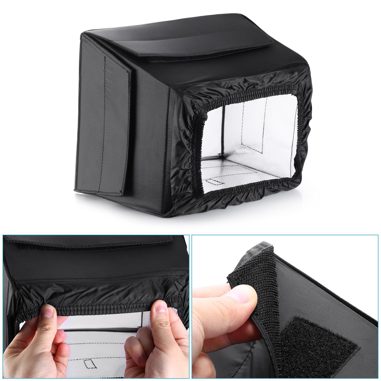 Neewer 8 Quot X9 Quot 20 X24cm Portable Pro Led Photography Studio