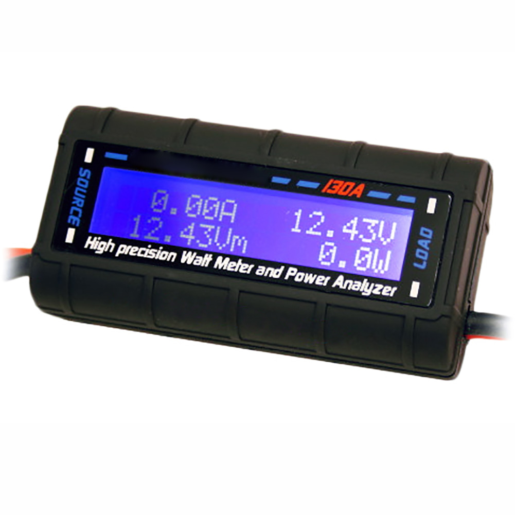 Watt Meter Inline: G.T. Power LCD Display RC Watt Meter And Power Analyzer