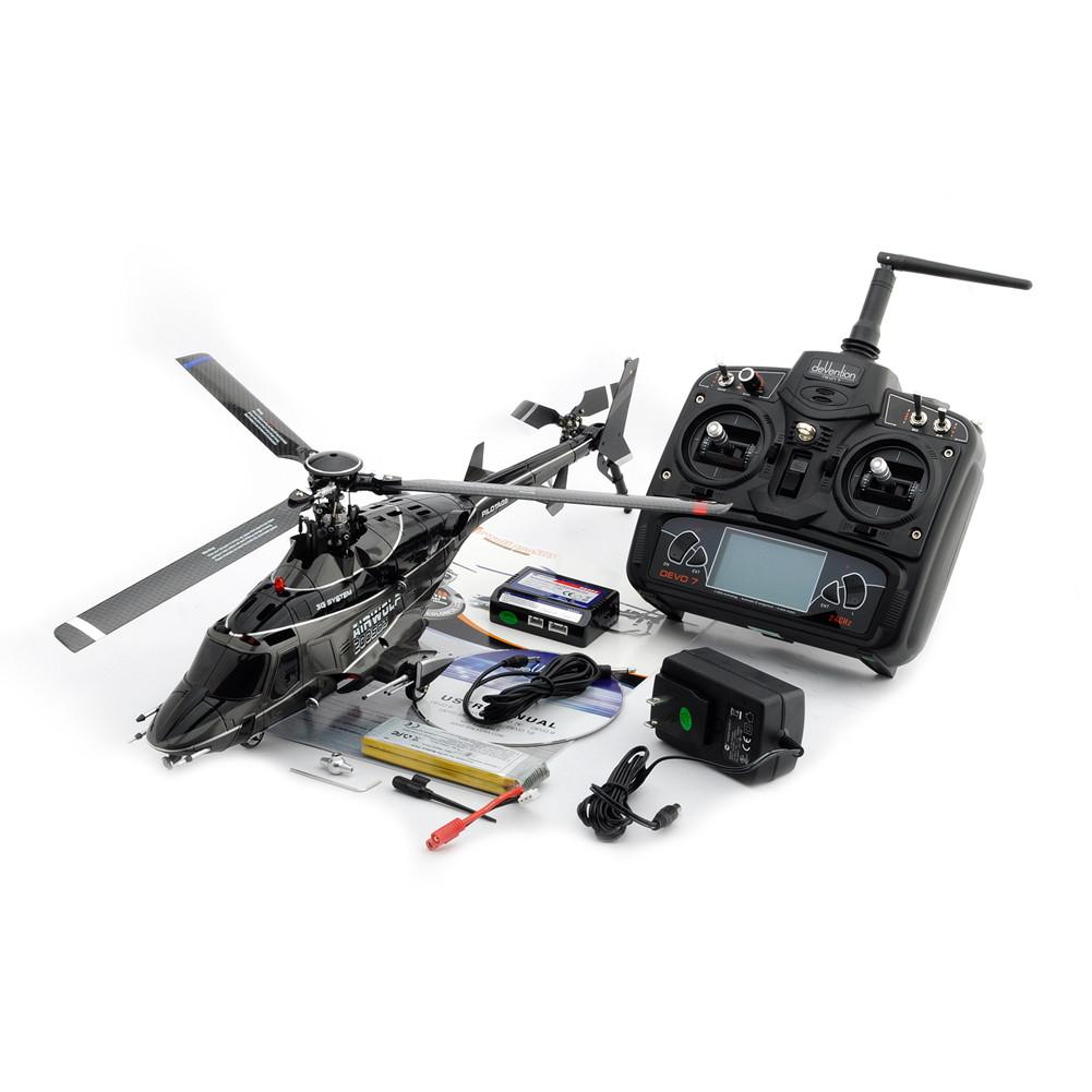 WALKERA AIRWOLF 200SD3 2.4G 3D RC RADIO CONTROL HELICOPTER WITH DEVO7 TX | eBay