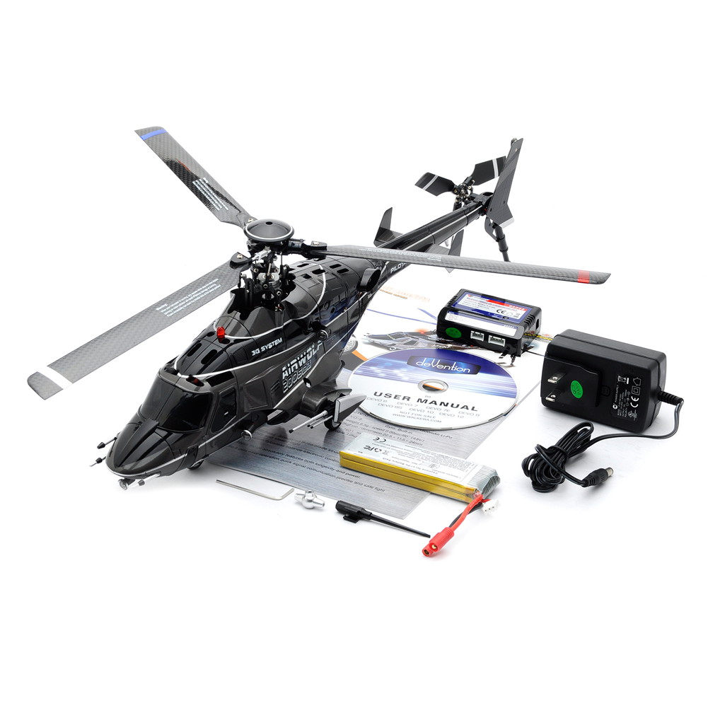 WALKERA AIRWOLF 200SD3 2.4G 3D RC RADIO CONTROL HELICOPTER NO TX | eBay
