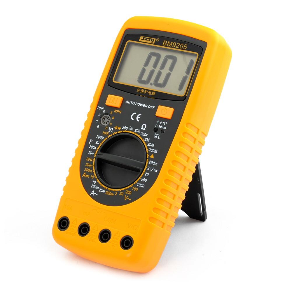 Ac Dc Voltmeter : Bm lcd display ac dc voltmeter ohmmeter digital