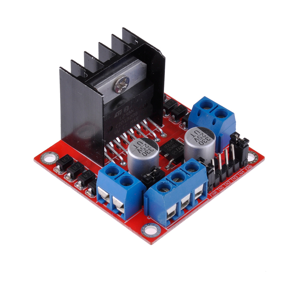 Dc Stepper Motor Drive Controller Board For Arduino L298n