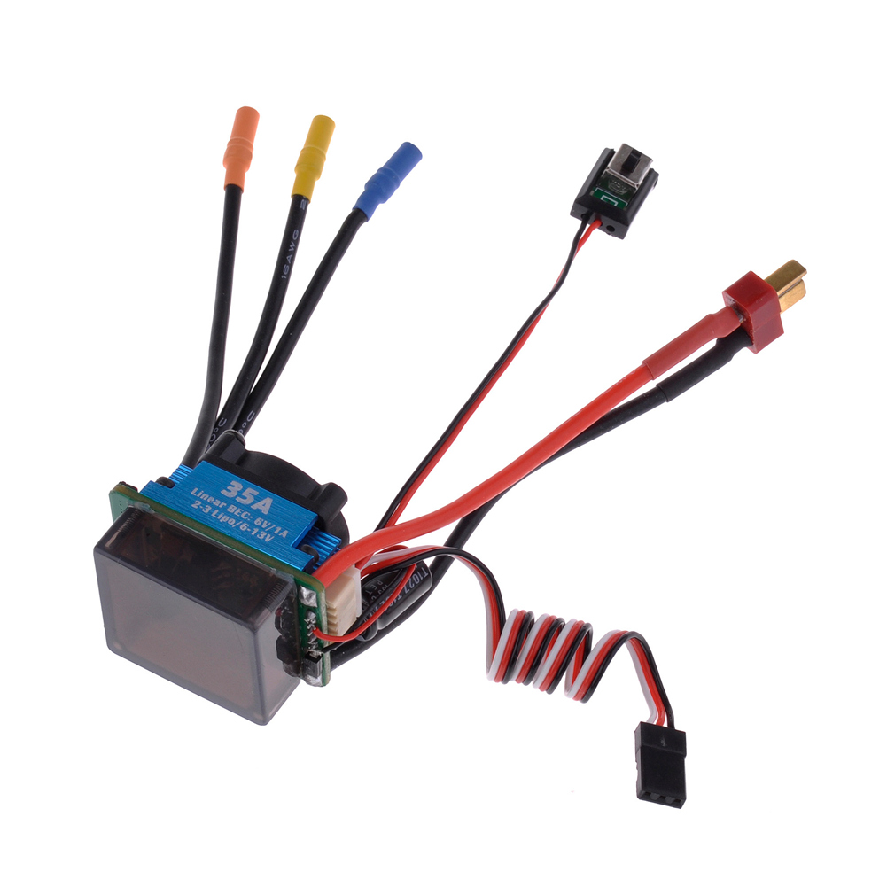 35a Sensorless Brushless Esc Speed Controller For 1 10 On