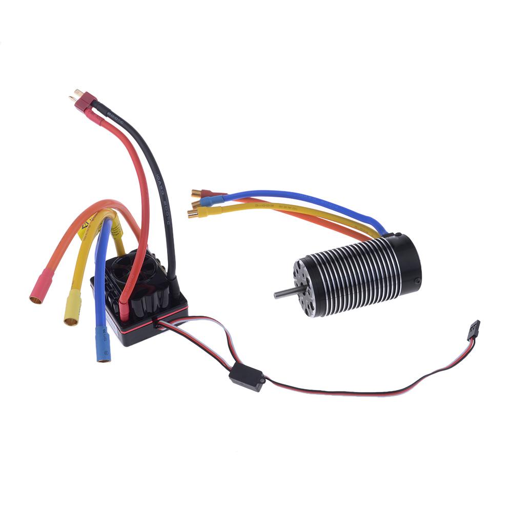 4076 sensorless brushless motor 1550kv 150a sensored esc for Brushless motor design software
