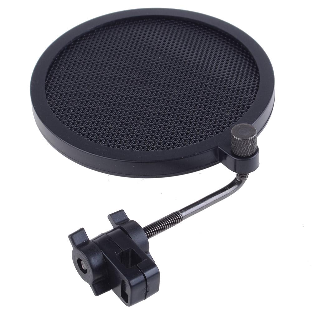 neewer 360 degree adjustable studio microphone wind screen pop filter ebay. Black Bedroom Furniture Sets. Home Design Ideas