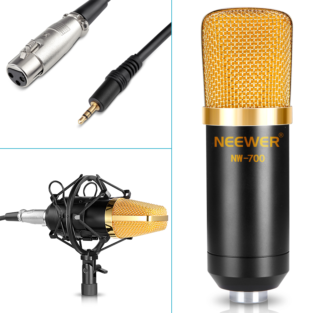 Studio Condenser Mic Circuit Guide And Troubleshooting Of Wiring Microphone Diagram Pre Neewer Nw 700 Broadcasting Recording