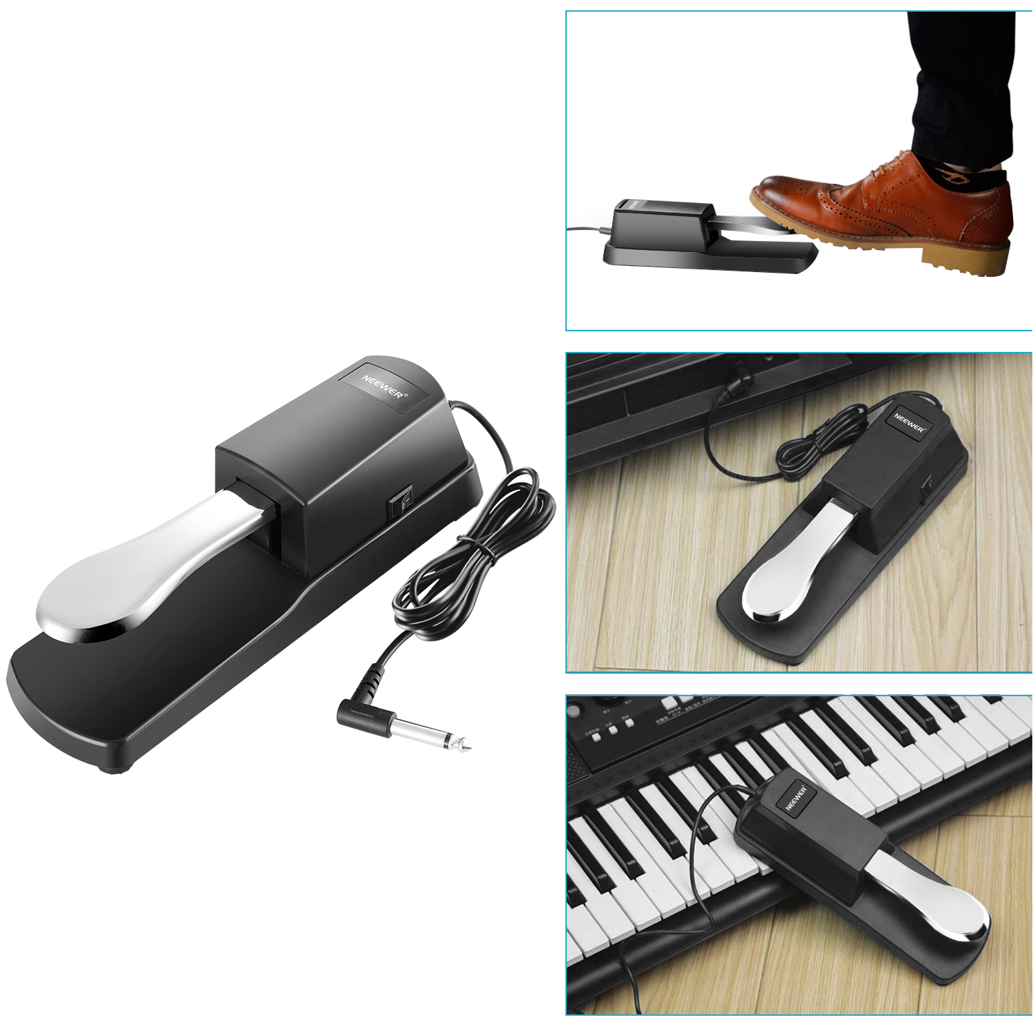 how to change sustain pedal polarity