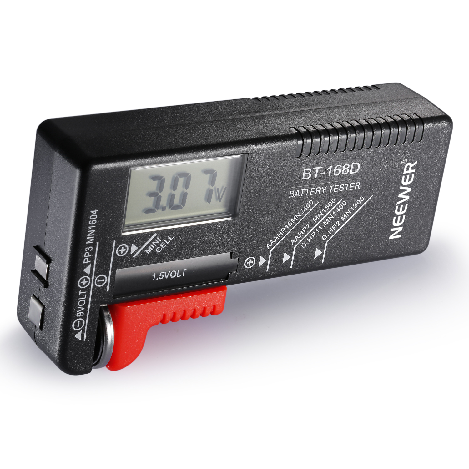 9 Volt Battery Tester : Neewer bt d digital battery tester volt checker for aa