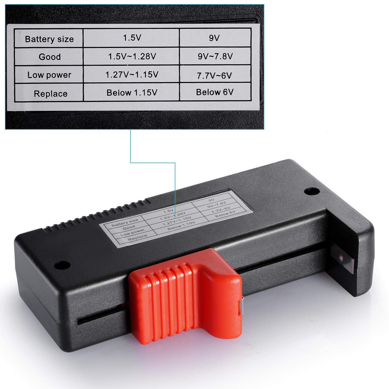 neewer batterie testeur numerique voltage verificateur pour aa aaa ebay. Black Bedroom Furniture Sets. Home Design Ideas
