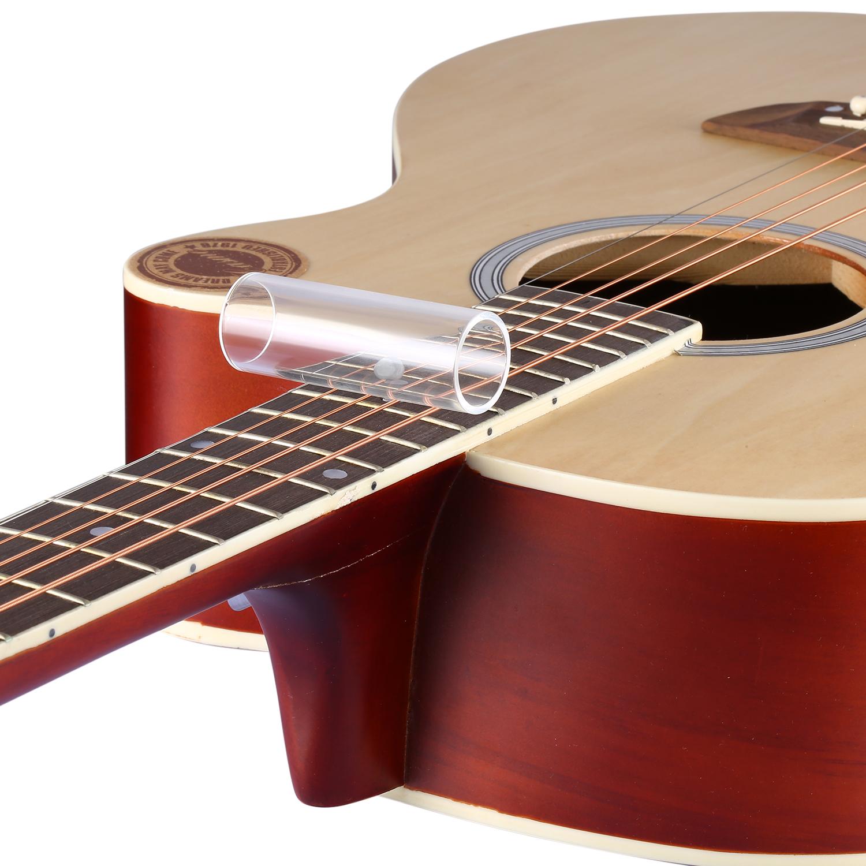 neewer clear guitar glass slide large ebay. Black Bedroom Furniture Sets. Home Design Ideas
