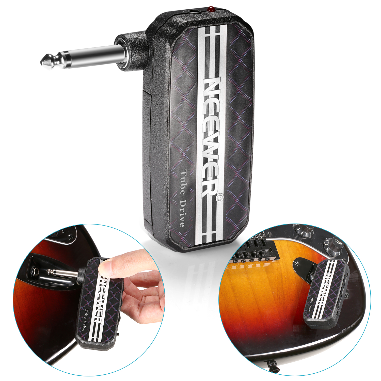 neewer mini pocket guitar headphone amp amplifier tube drive ebay. Black Bedroom Furniture Sets. Home Design Ideas