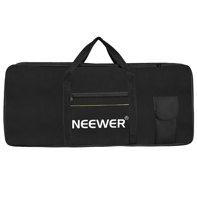 neewer 61 key electronic organ piano keyboard case portable bag ebay. Black Bedroom Furniture Sets. Home Design Ideas
