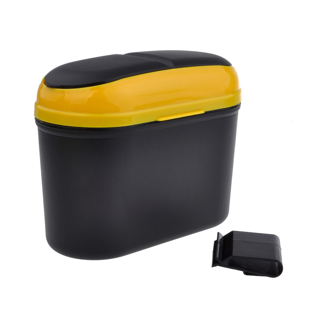 Mini portable car auto trash garbage rubbish can bin dust box holder em 01 ebay - Collapsible trash bins ...