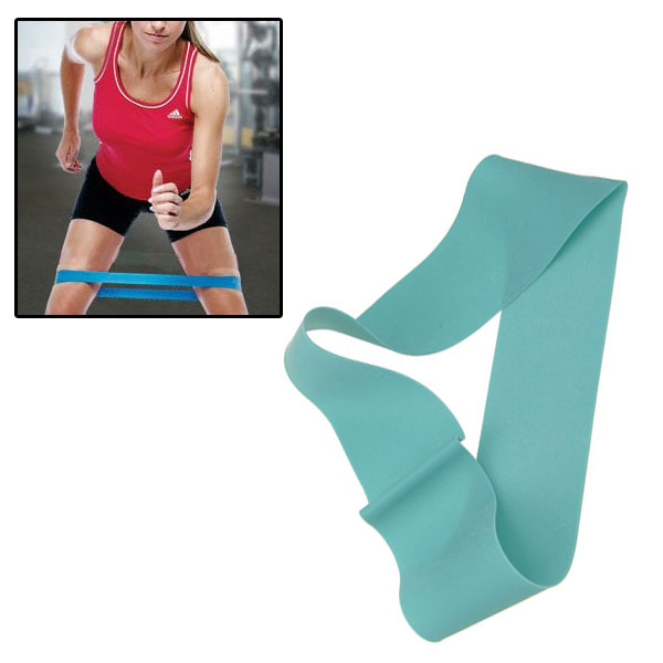 PhysioRoom Resistance Band Exercise Thigh Loop Blue