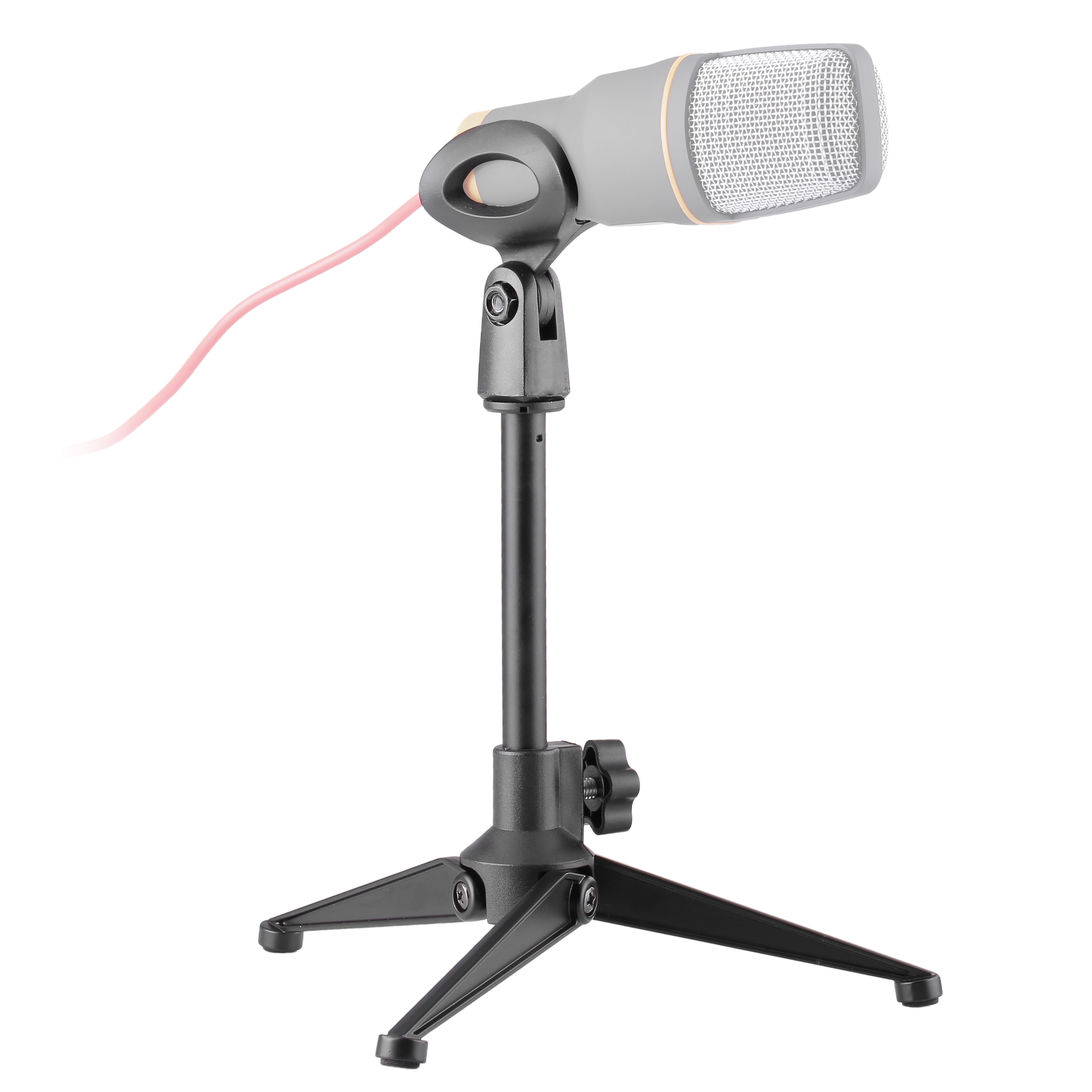 Lightweight Microphone Stand Tabletop Mic Stand Desk Stand PC03