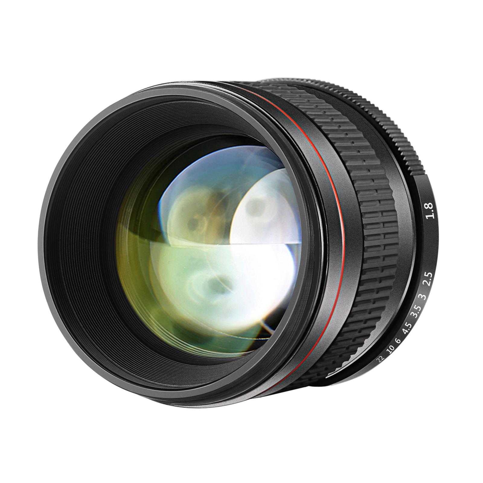 Details about Neewer 85mm f/1 8 Portrait Manual Focus Telephoto Lens for  Canon EOS 80D 70D 60D