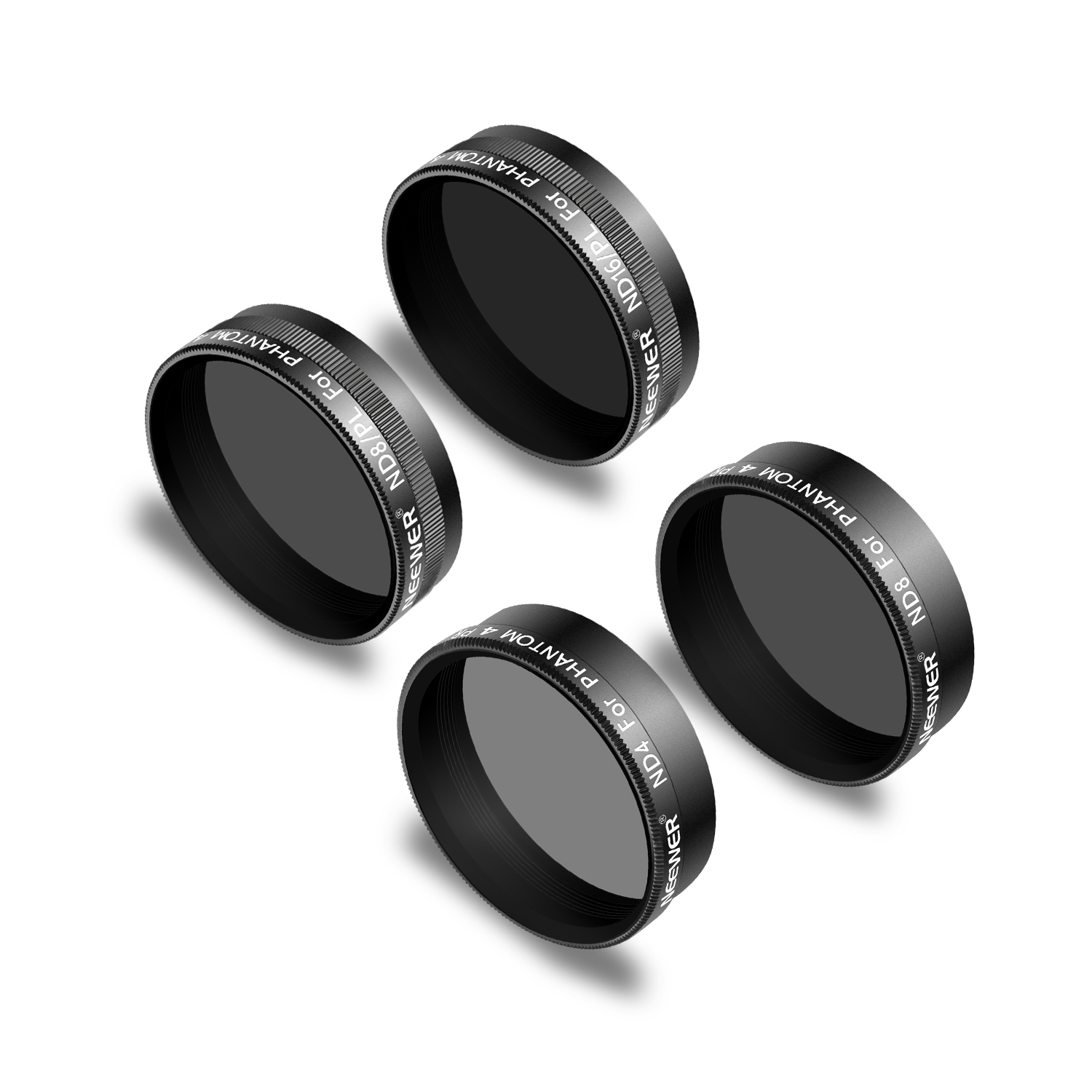 ND16//PL ND4//PL Black ND8 Made of Multi Coated Waterproof Aluminum Alloy Frame Optical Glass ND8//PL Neewer 6 Pieces Pro Lens Filter Kit for DJI Mavic Air Drone Quadcopter Includes: ND4 ND16