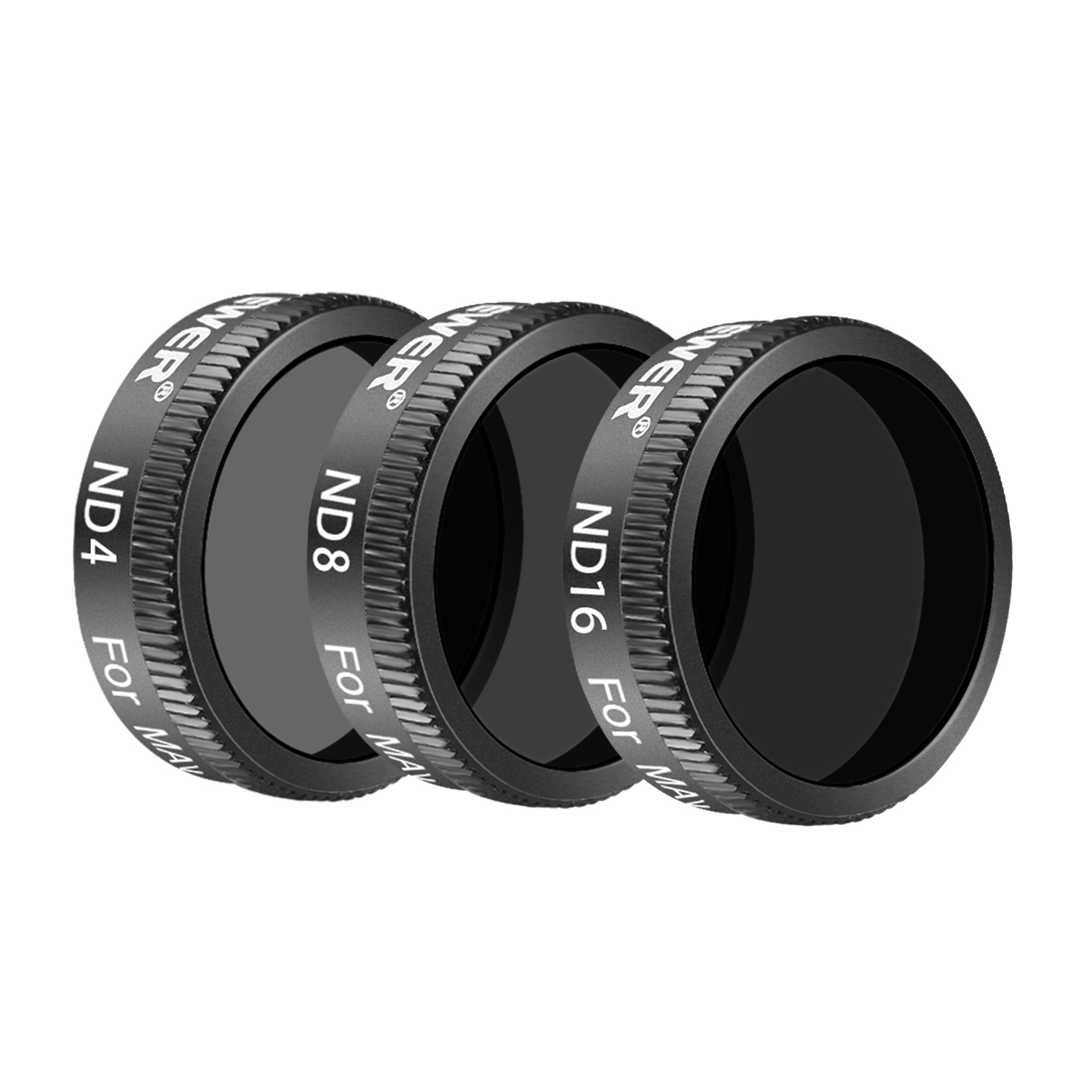 6 Pieces CPL ND4//PL Neewer DJI Mavic Air Filter Kit ND8//PL Black Made of Optical Glass and Aluminum Alloy Frame ND16//PL and ND32//PL Filter UV