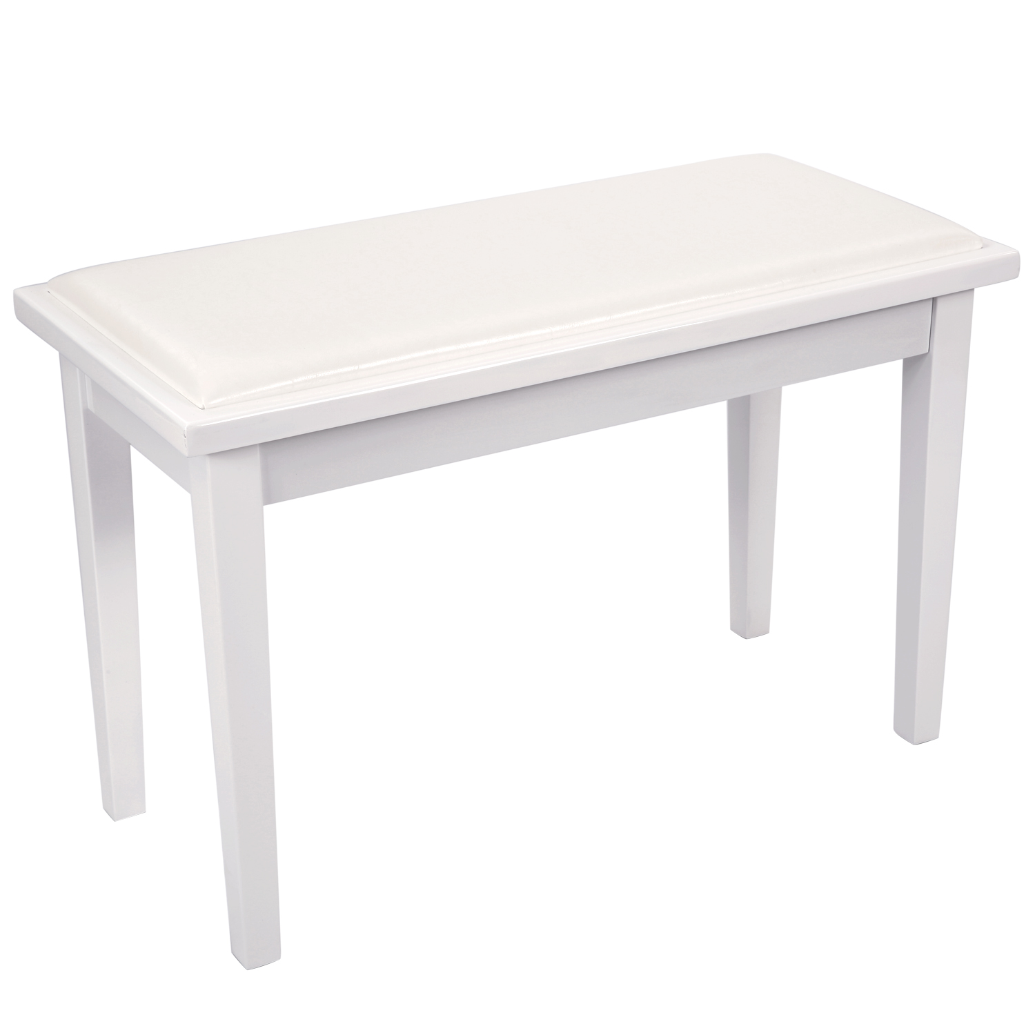 Remarkable Details About Neewer White Faux Leather Padded Duet Piano Bench With Leather Seat Rubber Feet Short Links Chair Design For Home Short Linksinfo