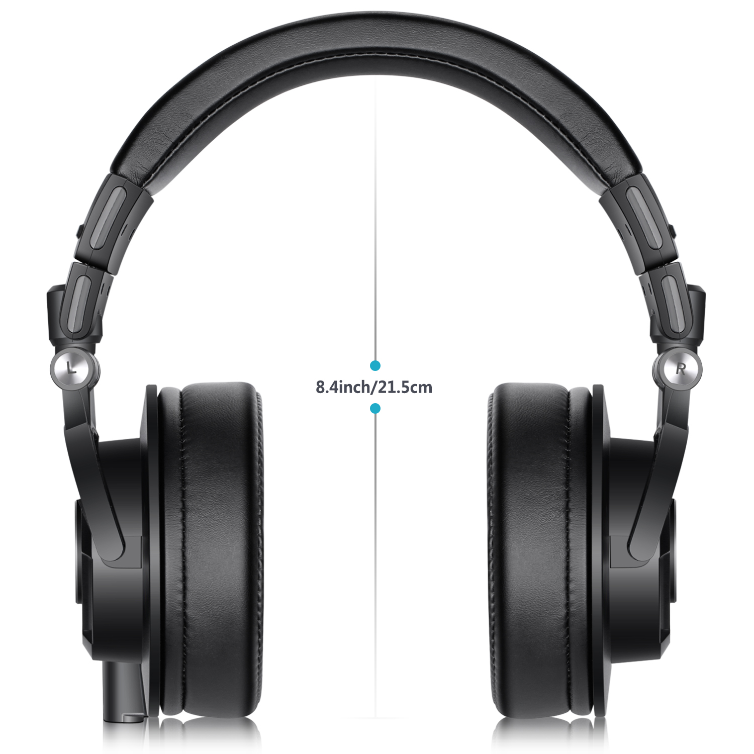 neewer nw 9000 studio monitor headphones rotatable headset for pc cell phones tv 191073021068 ebay. Black Bedroom Furniture Sets. Home Design Ideas