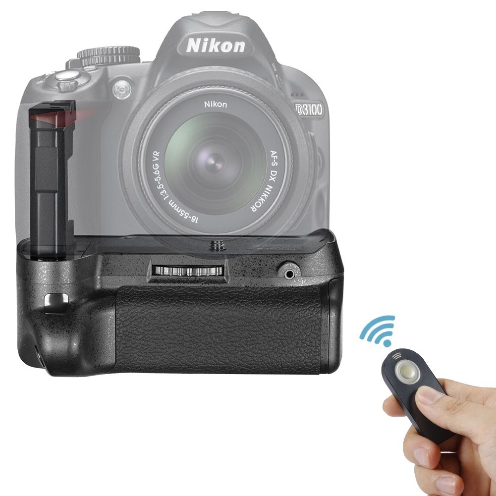 Neewer Remote Control Vertical Battery Grip Work with EN-EL14 Battery for  SLR Digital Camera