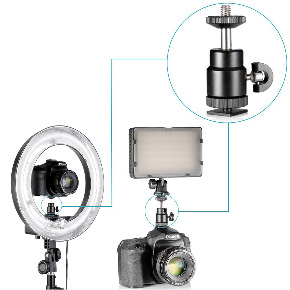 Neewer Camera Photo Studio Dimmable Fluorescent Ring Light Flash Kit 191073002418 Ebay